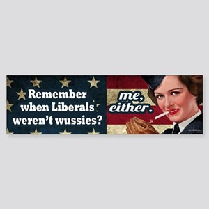 Remember When? Sticker (Bumper)