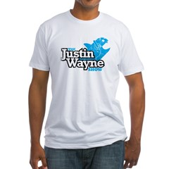 The Justin Wayne Show Men's White Logo T-Shirt