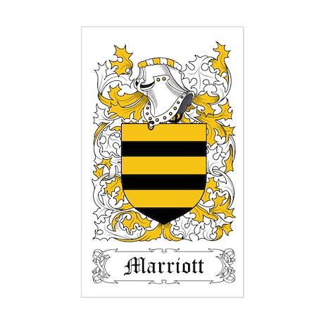 Marriott Sticker (Rectangle)