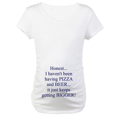 Beer Belly Maternity T-Shirt