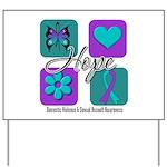 Hope Inspire Tiles Yard Sign