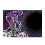 WillieBMX The Glowing Edge Postcards (Package of 8