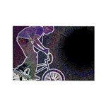 WillieBMX The Glowing Edge Rectangle Magnet (100 p