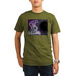 WillieBMX The Glowing Edge Organic Men's T-Shirt (