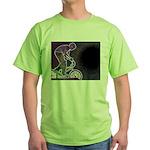 WillieBMX The Glowing Edge Green T-Shirt