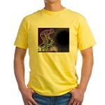 WillieBMX The Glowing Edge Yellow T-Shirt