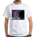 WillieBMX The Glowing Edge White T-Shirt
