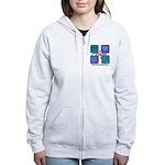 Hope Inspire Tiles Women's Zip Hoodie