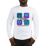 Hope Inspire Tiles Long Sleeve T-Shirt