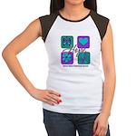 Hope Inspire Tiles Women's Cap Sleeve T-Shirt