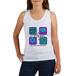 Hope Inspire Tiles Women's Tank Top