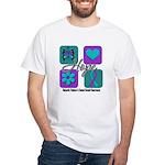 Hope Inspire Tiles White T-Shirt