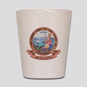 California Seal Shot Glass