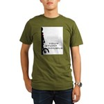 WillieBMX Your Stunt Double Organic Men's T-Shirt