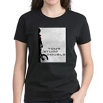 WillieBMX Your Stunt Double Women's Dark T-Shirt