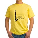 WillieBMX Your Stunt Double Yellow T-Shirt