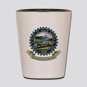 South Dakota Seal Shot Glass