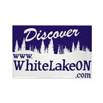 White Lake ON Rectangle Magnet