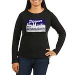 White Lake ON Women's Long Sleeve Dark T-Shirt