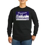 White Lake ON Long Sleeve Dark T-Shirt