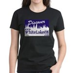 White Lake ON Women's Dark T-Shirt