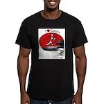 White Lake ON Men's Fitted T-Shirt (dark)