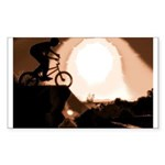 WillieBMX The Warm Earth Sticker (Rectangle)
