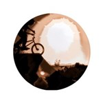 """WillieBMX The Warm Earth 3.5"""" Button (100 pack)"""