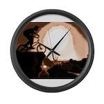 WillieBMX The Warm Earth Large Wall Clock