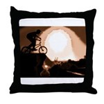 WillieBMX The Warm Earth Throw Pillow