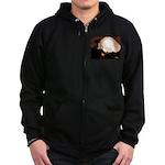 WillieBMX The Warm Earth Zip Hoodie (dark)