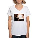 WillieBMX The Warm Earth Women's V-Neck T-Shirt