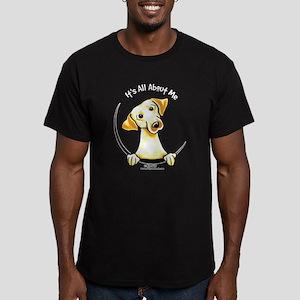 Yellow Lab IAAM Men's Fitted T-Shirt (dark)