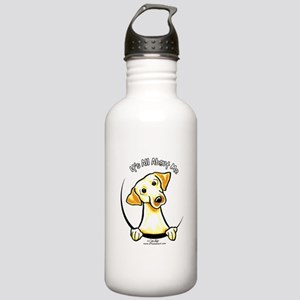 Yellow Lab IAAM Stainless Water Bottle 1.0L