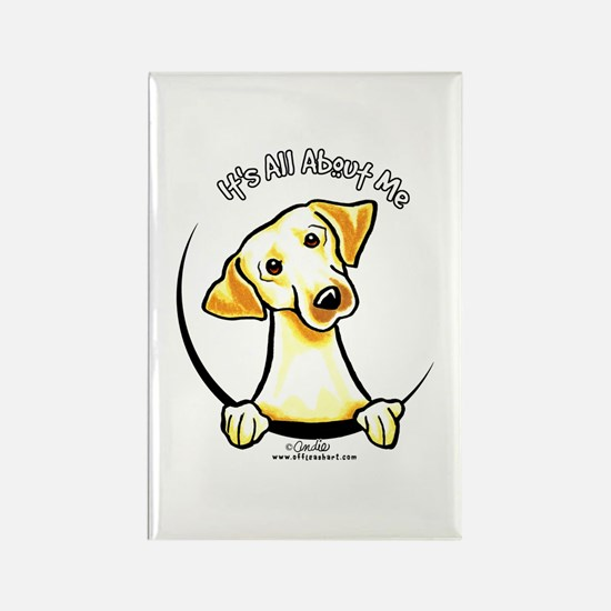 Yellow Lab IAAM Rectangle Magnet