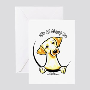 Yellow Lab IAAM Greeting Card