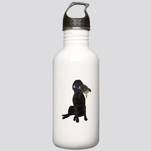 lab with duck Stainless Water Bottle 1.0L