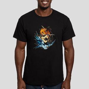 Warrior Woman Men's Fitted T-Shirt (dark)