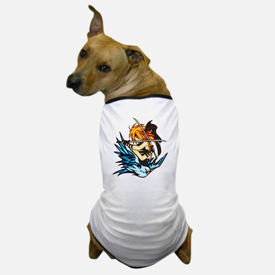 Warrior Woman Dog T-Shirt