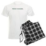 Prepare To Be Blogged Men's Light Pajamas