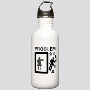 funny divorce problem Stainless Water Bottle 1.0L