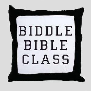 Biddle Bible Class Throw Pillow