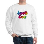 Rainbow DEAF CAN Sweatshirt