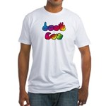 Rainbow DEAF CAN Fitted T-Shirt