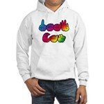 Rainbow DEAF CAN Hooded Sweatshirt