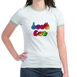 Rainbow DEAF CAN Jr. Ringer T-Shirt