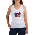 Rainbow DEAF CAN Women's Tank Top