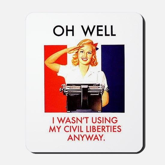 Civil Liberties Mousepad