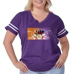 50th Reunion Women's Plus Size Football T-Shirt