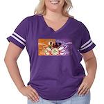 50th Reunion Women's Plus Size Football T-Shirt